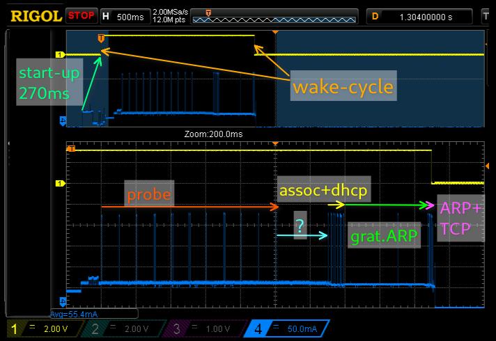 RTL8710 Deep-Sleep with Periodic Wake-up